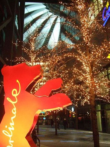 Berlinale-Bär am Potsdamer Platz
