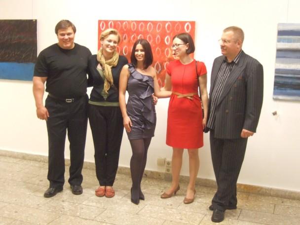 Gemäldeausstellung russischer belarussischer und