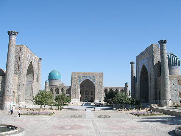 Registan-Platz in Samarkand