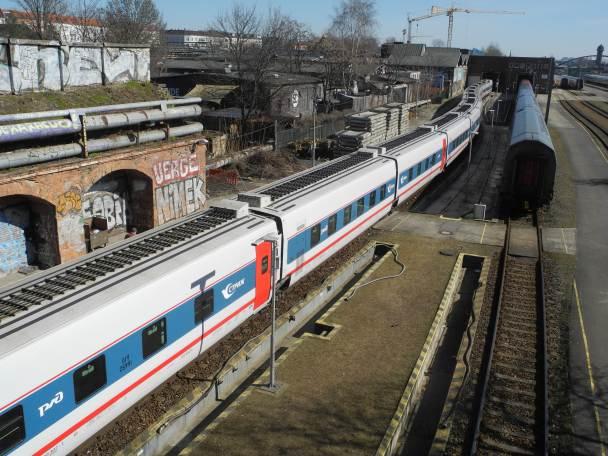 Zug Frankfurt Moskau